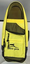 Beach Bag Dive Pro yellow for snorkeling equipment and watersports