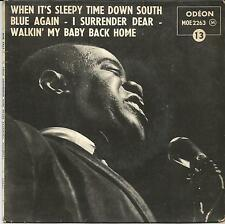 LOUIS ARMTRONG When it's sleepy time down south FRENCH EP ODEON 1960