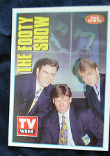 THE FOOTY SHOW - TV WEEK COLLECTORS CLASSIC SHOWS CARD #22