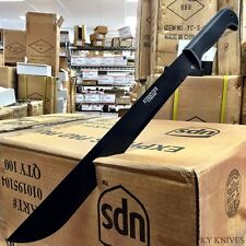 "22"" TACTICAL SURVIVAL Fixed Blade NINJA MACHETE Hunting Sword Full Tang Knife -S"