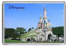 Euro Disney Paris Disneyland Fridge Magnet 01 Free Postage