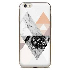 Clear New Fashion Pattern Silicone Soft TPU Back Phone Cover Case For iPhone 7