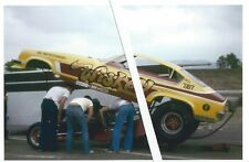 "Vintage Drag Racing-""Wiskey Joe"" Amato's '72 Chevy Vega Funny Car ""WISKEY"""