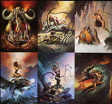 Boris Vallejo BEAUTIES & BEASTS KEEPSAKE COLLECTION Portfolio (1995) Fantasy Art