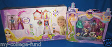 DISNEY PRINCESS RAPUNZELS MAGICAL MINI TOWER + FLYNN MAXIMUS RAPUNZEL NU