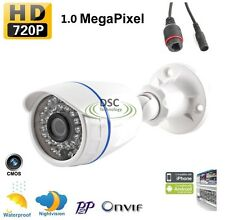 1.0MP 720P Bullet IP Camera Network P2P Onvif Outdoor Security Waterproof Night