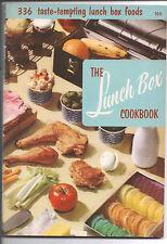 NICE! 1955 LUNCH BOX Cookbook 336 Recipes Paperback Culinary Art Institute # 105