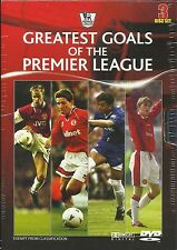 GREATEST GOALS OF THE PREMIER LEAGUE 3 DVD SET *BRAND NEW AND SEALED*