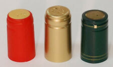 102 shrink tops red, green and gold wine bottles mead
