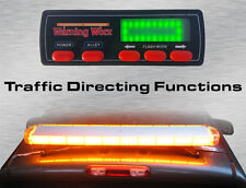 "Warningworx Full Size 47"" Orange Amber LED Strobe Light Bar Traffic Arrow 88W"