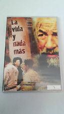 """DVD """"LA VIDA Y NADA MAS"""" PRECINTADA BERTRAND TAVERNIER PHILIPPE NOIRET"""