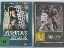 Karl May Winnetou Sammlung - Schatz im Silbersee & Winnetous Rückkehr - P. Brice