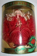 Happy Holidays Special Edition 1993 Barbie Doll NRFB 10824