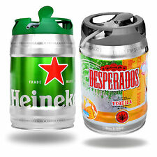Desperados Tequila und Heineken Beer with Tap ever 5 Liter Partyfass
