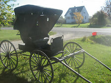 antique horse drawn carriage buggy