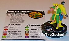 POWER MAN & IRON FIST 050 Superior Foes Of Spider-Man Marvel HeroClix Super Rare