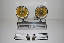 Porsche Hella 118 horn grill yellow amber fog lights 911 912 with horn grills