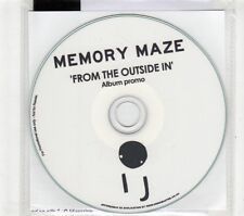 (GT158) Memory Maze, From The Outside In - 2015 DJ CD