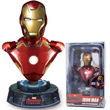 Marvel Age of Ultron Iron Man Light Up Resin Bust Paperweight Figure Statue
