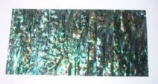 Natural Paua Shell Laminate 4 Jewellery / Inlay -  8x4