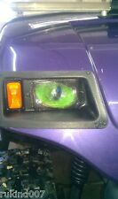 CLUB CART GOLF CART GREEN Eyes DragStrip camping RuKindCover's HeadLight Covers