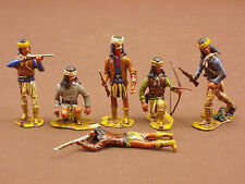 REVIRESCO - APACHE WARS - APACHE INDIAN WARRIOR SOLDIER FIGURE SET