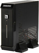"(ITX-MINI-206)(w/60W PSU)Shortest BLACK DESKTOP(ITX CHASSIS)(2.5"" HDD) Case NEW"