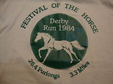 Vintage Festival Of The Horse Derby Run 1984 Farmers Bank T Shirt Mens Size L