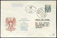 Austria 1964, 50g Definitive FDC First Day Cover #C17574