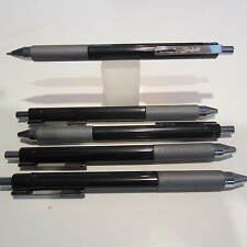 5 SCRIPTO  MODEL AWESOME CLICK TRIANGLE BALLPOINT PEN-RUBBERIZED GRIP