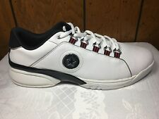 OLD SCHOOL CONVERSE CAMBELL MEN'S  LO TOP LEATHER WHITE  2001 SIZE14
