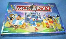 Monopoly THE DISNEY EDITION  Hasbro 2001, COMPLETE with PEWTER PAWNS
