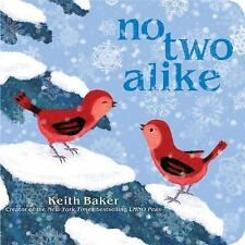 NO TWO ALIKE Keith Baker (2014) Children's BOARD BOOK winter snow NEW toddler