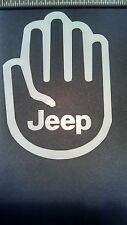 JEEP WAVE Wrangler JK CJ Cherokee Sticker Liberty Crawling Fun Window Decal