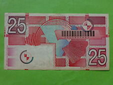 Netherlands Holland 25 Gulden 5-April-1989 (Used) 2231931607