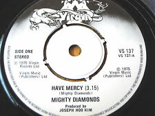 "MIGHTY DIAMONDS - HAVE MERCY   7"" VINYL"