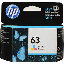 Exp 2017 Genuine HP 63 Color F6U61AN Ink OfficeJet 4650 4652 4654 4655