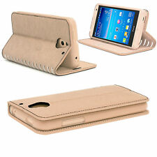 New Slim Luxury Leather Stand Stylish Wallet Card Case Cover for Mobile Phones