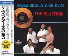 THE PLATTERS - CD - SMOKE GETS IN YOUR EYES  ( Japan )