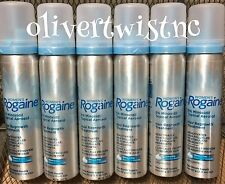 (6) ROGAINE WOMENS 5% TOPICAL FOAM MINOXIDIL 12 Month Supply (6) CANS EXP 7/2018