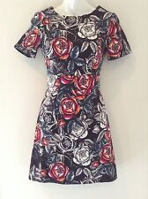 FRENCH CONNECTION Womens Nwt Midnight Rose Floral Dress Sz 0 NEW
