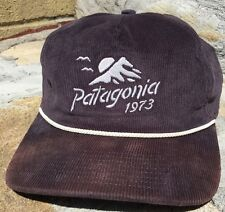 EXTREMELY RARE Patagonia Coastal Range Corduroy Hat Vintage Outdoors Unique OSFA