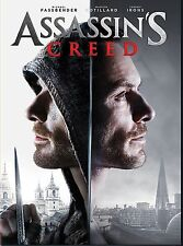 Assassins Creed (DVD 2016)  Action-Drama PRE-ORDERE SHIPS ON 03/21/17