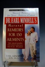 Dr Earl Mindells Natural Remedies for 150 Ailments Easy to Use All Natural