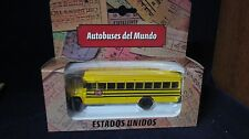 school bus usa 1/72 edition LTDA buses del mundo  de  colombia new