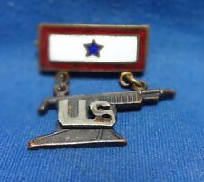 WWI Army Infantry Machine Gun Battalion Son In Service Blue Star Home Front Pin