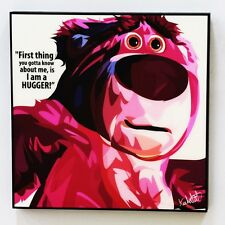 lotso bear toy story canvas quotes wall decals photo painting pop art poster