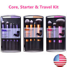 HOT Real Techniques Makeup Brushes 3 Sets ( Core, Starter & Travel ) US Stock