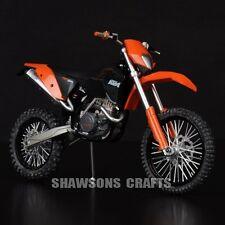 DIECAST MOTORCYCLE MODEL TOYS 1:12 KTM 450 EXC 09 DIRT BIKE REPLICA