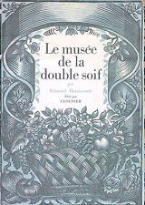 Catalogue Ancien Cusenier 1925 Draeger le Musée de la double soif